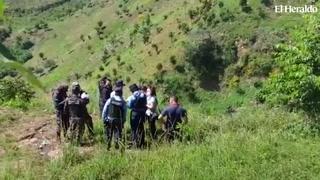 Encuentran cadáver en zona boscosa de la colonia Altos de las Cascadas en Comayagüela