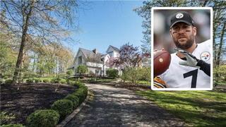 Ben Roethlisberger's PA Mansion Has Some Sweet Perks—Check Them Out!