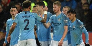 Manchester City avanzó a la semifinales de la Copa de la Liga con un sufrido triufo ante el Leicester