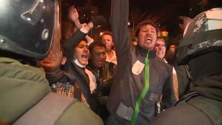En medio de protestas, Evo Morales a punto de ganar reelección en Bolivia