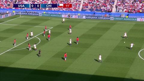 Estados Unidos goleó 3-0 a Chile y sigue a paso firme en el Mundial Femenino