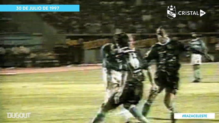 Julio Rivera's solo goal vs Racing in the 1997 Libertadores