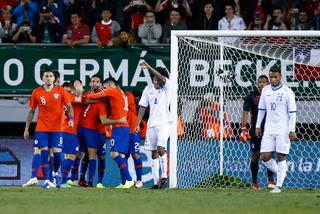 Honduras fue goleada por Chile en una noche llena de muchos penales