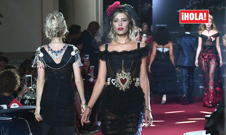 Michelle Salas, de nuevo, musa de Dolce & Gabbana