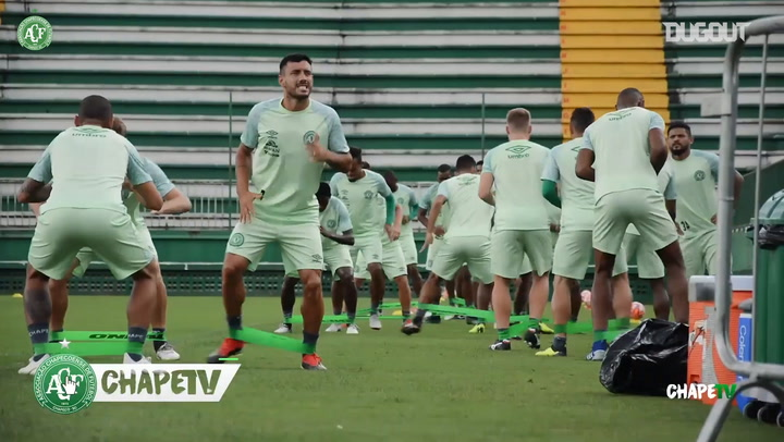 Preparations Continue With Chapecoense