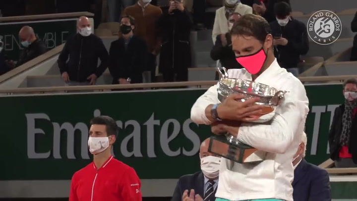 Rafa Nadal, campeón de Roland Garros 2020