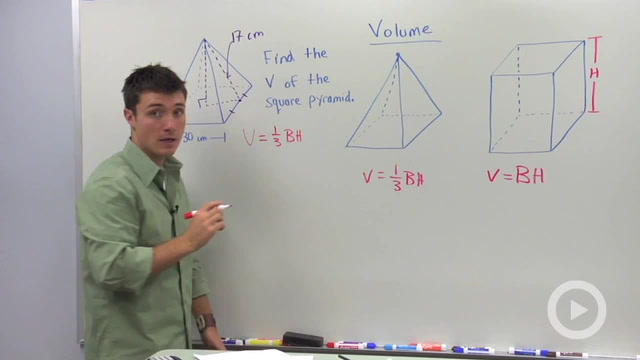 Volume of Pyramids - Problem 1