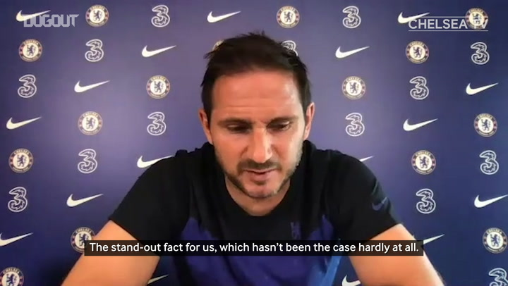 Lampard: 'We've quickly moved on from Sheff Utd loss'
