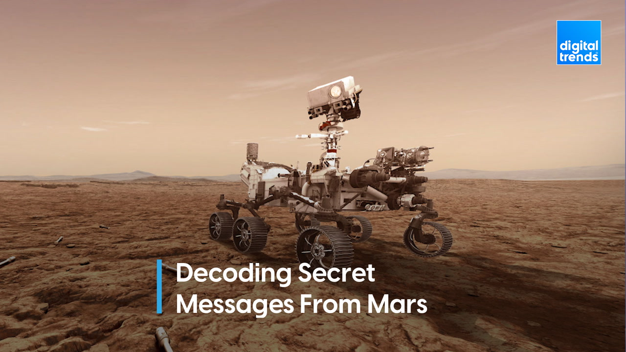 Revealed! The secret message on Perseverance rover's Mars parachute