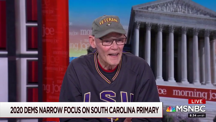 James Carville: 'Elizabeth Warren Hates Michael Bloomberg More than She Wants to Win'