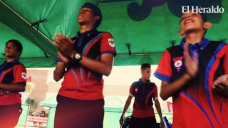 Bandas de guerra demostraron su pasión por el ritmo en el I Concurso de Bandas EL HERALDO