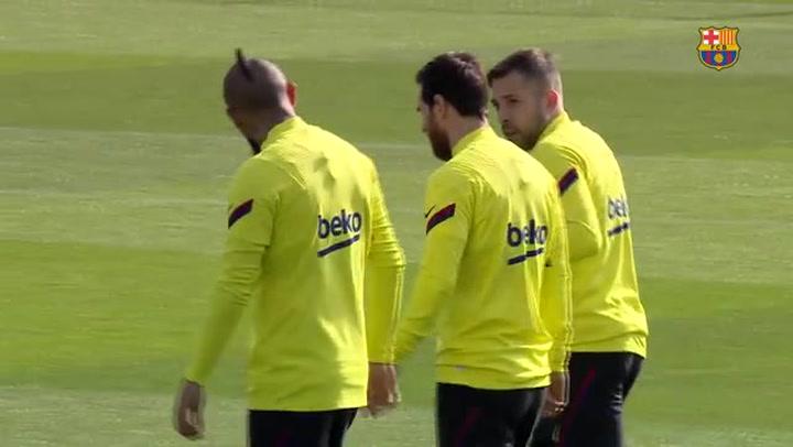 Jordi Alba recibe el alta médica y entra en la lista para el Clásico