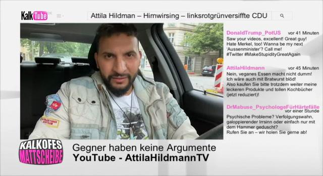 Kalkofes Mattscheibe Clip: Attila Hildmann im Auto