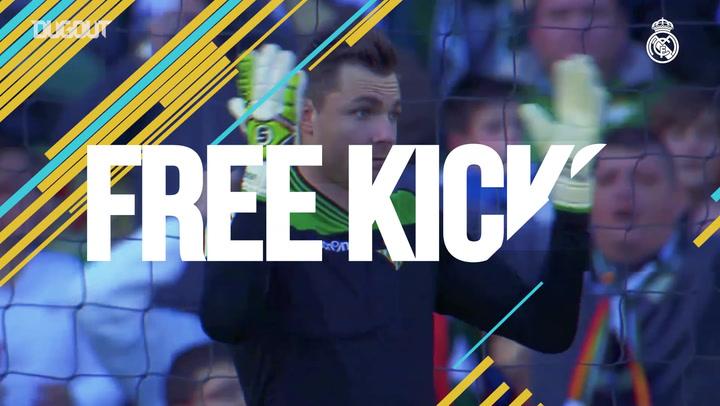 Free Kicks: Gareth Bale Vs Betis