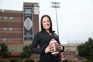 Meet the woman behind the Las Vegas Bowl