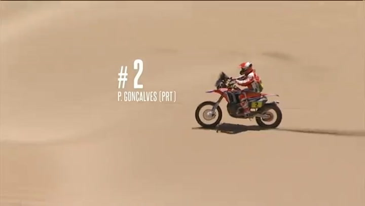 Gonçalves ya sufrió un espectacular accidente en el Dakar 2016