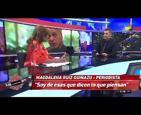 Magdalena Ruíz Guiñazu repudió los dichos de Zaffaroni