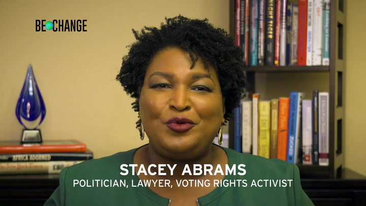 Be Change Stacy Abrams Vote 130