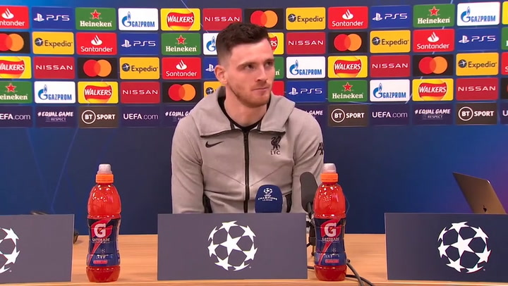 The Barca game, it's no secret, it wouldn't be possible without the fans, Andy Robertson | ©UEFA 2020