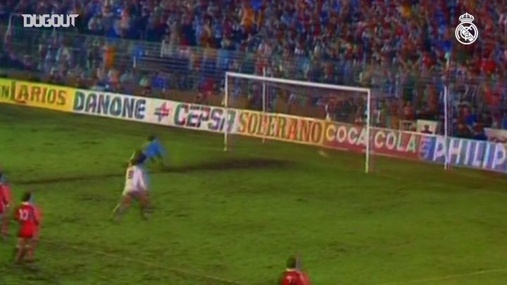 Real Madrid win 1987-88 LaLiga