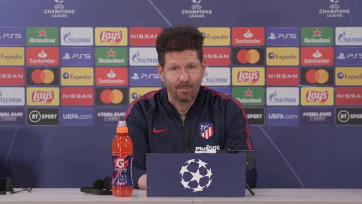"""Simeone: """"¿La racha de Suárez? Mañana puede ser un día muy bonito"""