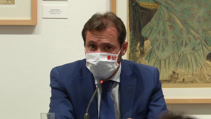 Óscar Puente, alcalde de Valladolid, llama a la