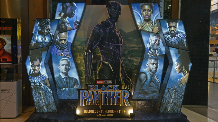 If these numbers continue, 'Black Panther' will be one of Marvel's top-five highest grossing movies so far.