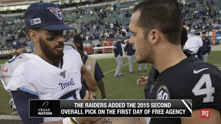 Marcus Mariota is a Raider – Video