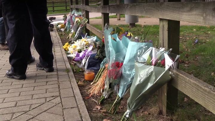 Sabina Nessa murder: Floral tributes left at scene as police appeal for information