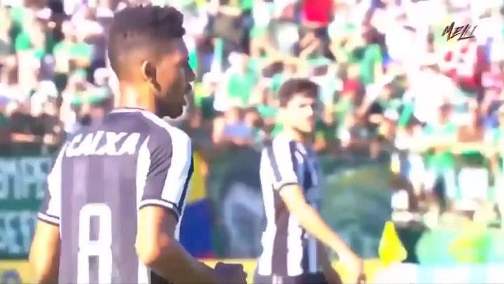 Así juega Matheus Fernandes, centrocampista del Palmeiras