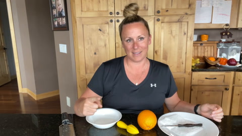 Cristen Clark of Food & Swine takes the quintessential sweet breakfast food and makes it into a treat with her Citrus Cream Cheese Pancakes.