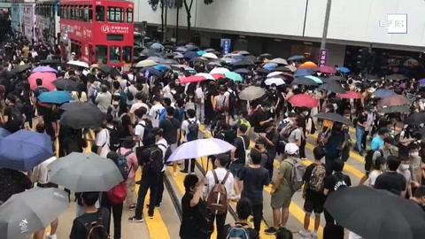 Vuelven las protestas a Hong Kong contra la ley de seguridad de Pekín