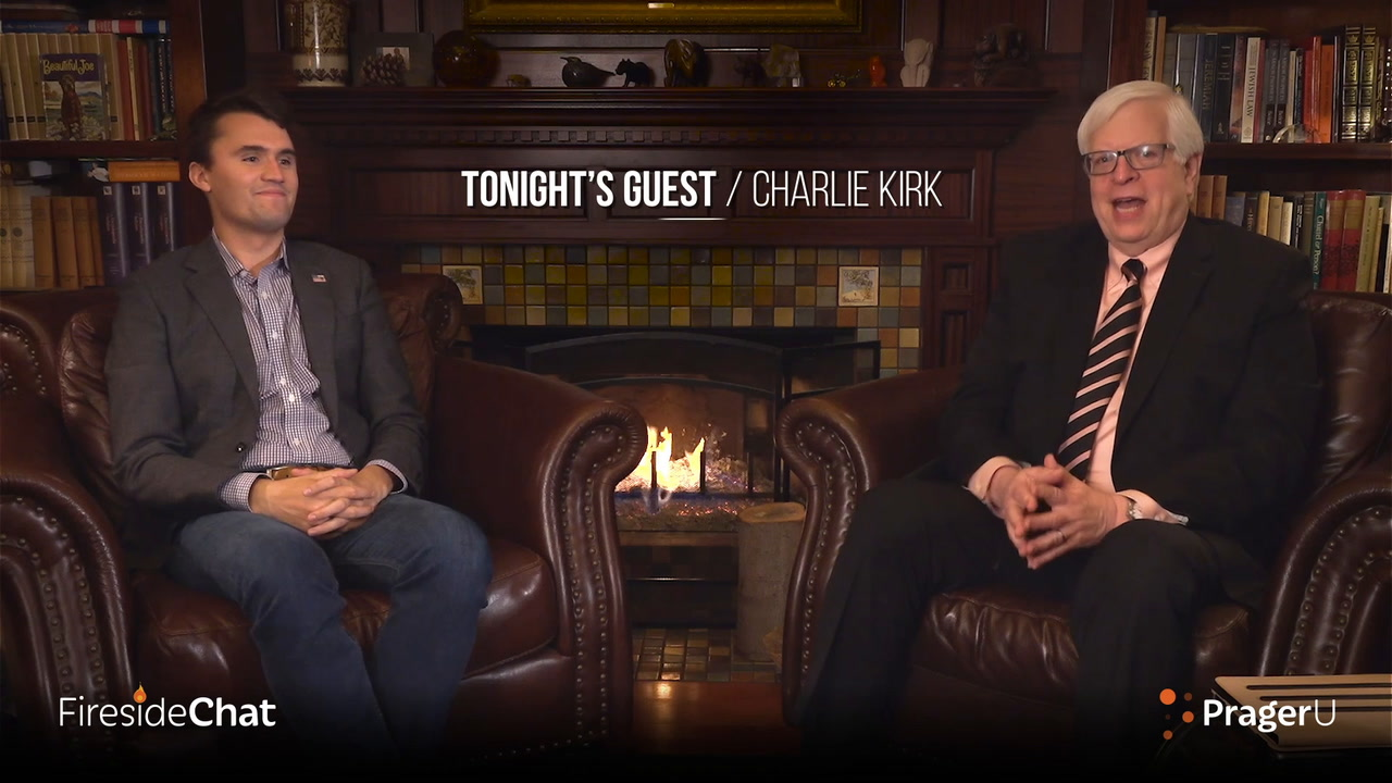 Fireside Chat Ep. 65 - Dennis Talks With TPUSA's Charlie Kirk!