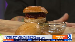 Watch: Just in time for Thanksgiving: The turducken … burger?