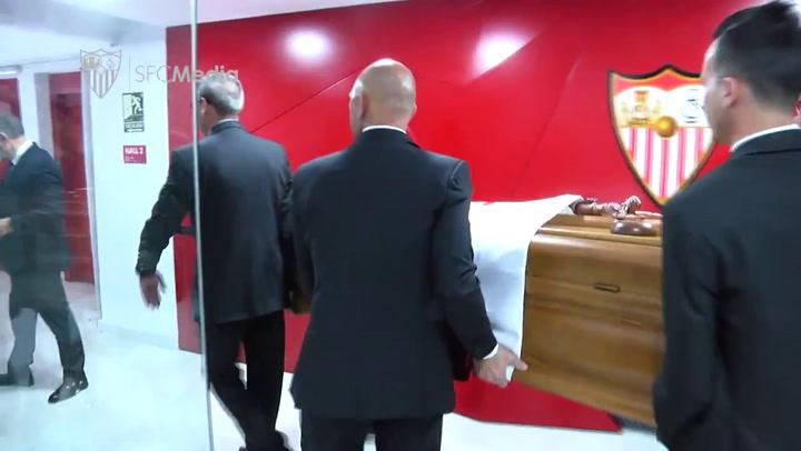 Emotivo entierro de Reyes en Utrera