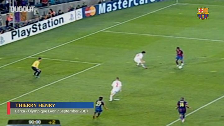 The First Goals of FC Barcelona Legends - Part II