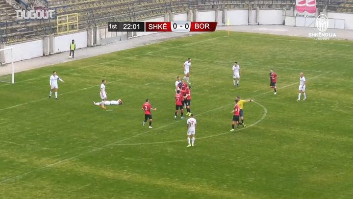 Armend Alimi scores first career hat-trick at KF Shkëndija