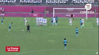 El gol que se comió Jorge Benguché contra Nueva Zelanda