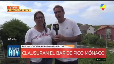 Ordenaron el cierre del local gastronómico que Pico Mónaco tiene en Punta del Este