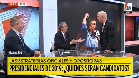 Guillermo Moreno se cruzó con Eduardo Feinmann y lo desafió a pelear