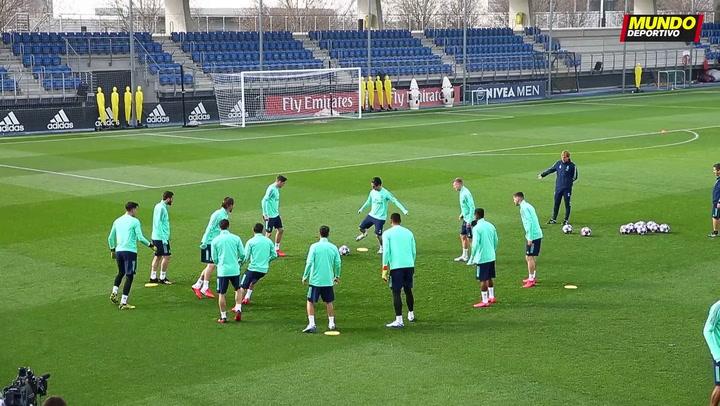 El Madrid se prepara contra el City