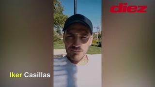 Iker Casillas envía un mensaje de solidaridad a Honduras en tiempos de coronavirus