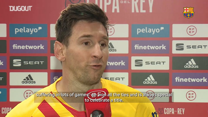 Leo Messi: 'It's really special being the captain of the club where I've been playing all my life'