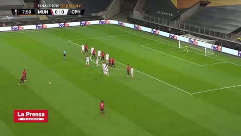 Manchester United 1 - 0 Copenhague (UEFA Europa League)
