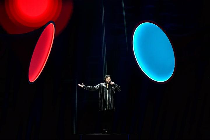 James Newman represents the UK at Eurovision