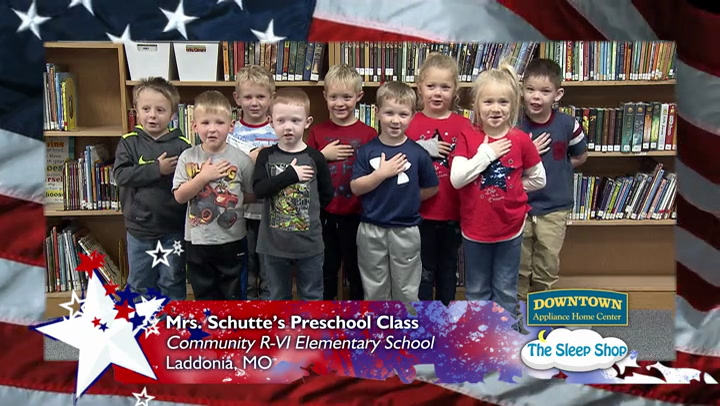 Community R-6 - Mrs. Schutte - Pre-school