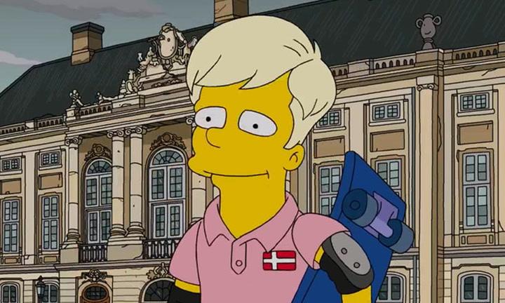 ¿Adivinas qué joven \'royal\' ha hecho su debut en \'Los Simpson\'?