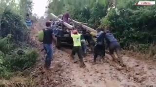 Así luchan los pobladores de El Negrito para tener energía eléctrica