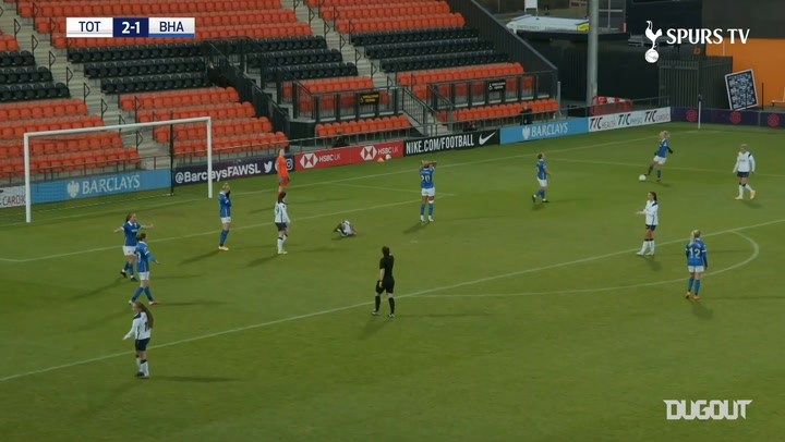 Alex Morgan's first goal for Spurs Women