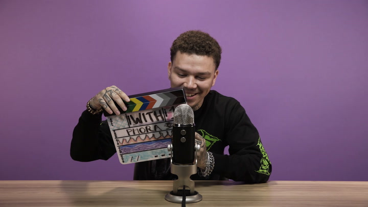 Phora Does ASMR, Talks 'Love Is Hell' & Smashes Valentine Chocolates